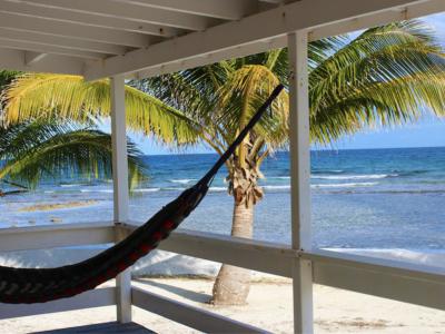 Private Cabin with seafront veranda